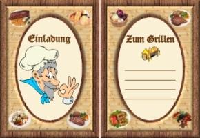 Lustige Einladungskarten Zum Grillen Kostenlos Ausdrucken