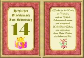 Geburtstagswunsche Junge 14 Marianiadiana Web