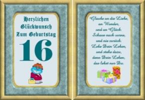 Geburtstagswunsche Zum 16 Gl252ckw252nsche Lustige Geburtstag