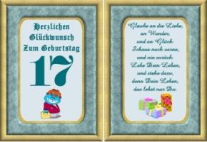 Glückwünsche Zum 17 Geburtstag Lustig