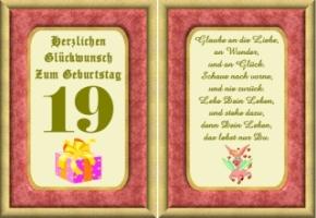 Sprüche Zum 19. Geburtstag Witzig | frisuren testen