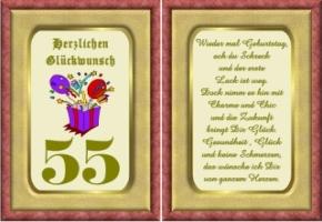 Lustige Geburtstag Wünsche 55 Jahre Kostenlos Ausdrucken