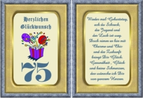 Schön Geburtstagssprüche Zum 75 Geburtstag Glückwünsche Geburtstag Patentante  Quotabfertigungquot