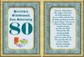 Spruche Zum 80 Geburtstag