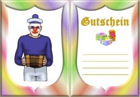 Vorlagen clown gutschein vorlagen clown 69 gutschein vorlagen clown 70